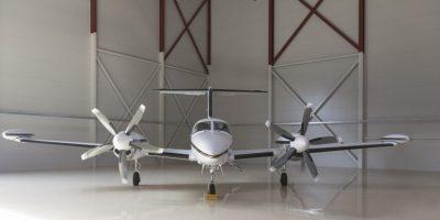 Custom-made SCC steel hangar