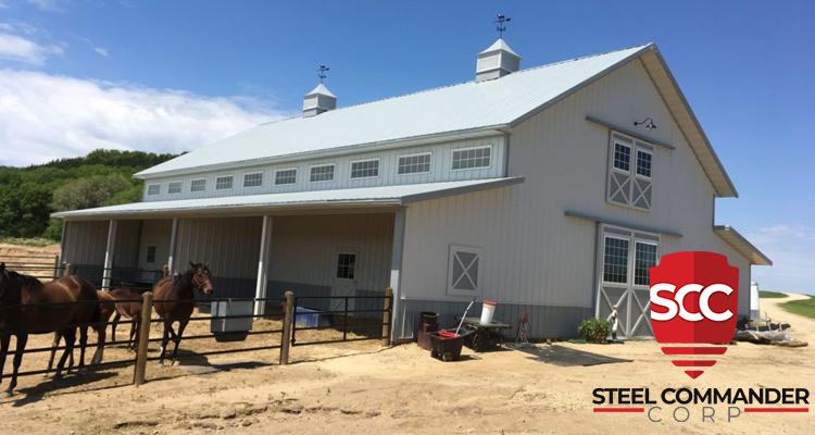 Steel Farm Building