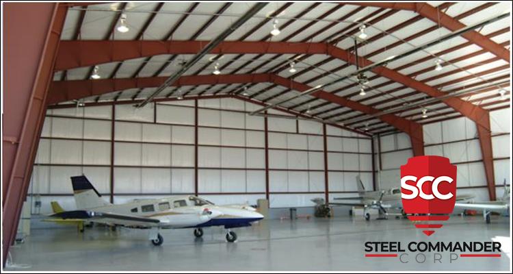 Metal Hangar Building