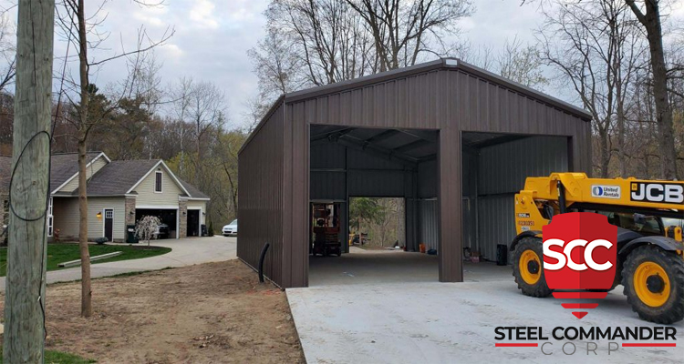 Steel Building Home for Sale